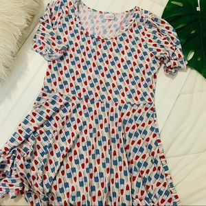 LulaRoe Popsicle stick Amelia dress
